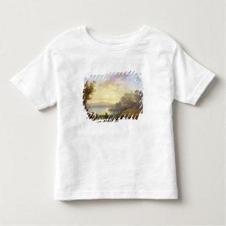 Italian Landscape, Setting Sun Toddler T-Shirt