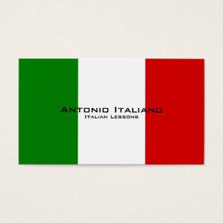 Italian Lessons / Italian Teacher Business Card