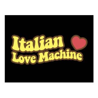 Italian Love Machine Postcard