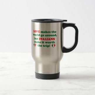 Italian Love Travel Mug