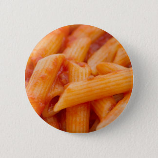italian macaroni 6 cm round badge