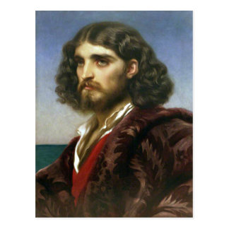 Italian Man by Leighton Postcard