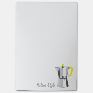 Italian Moka Post-it Notes