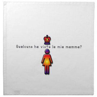 Italian-Mommy Napkin