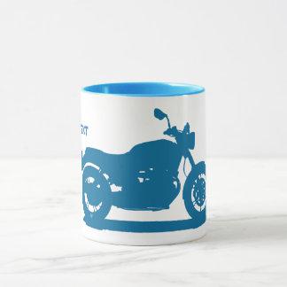 Italian motorcycle mug