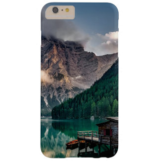 Italian Mountains Lake Landscape Photo Barely There iPhone 6 Plus Case
