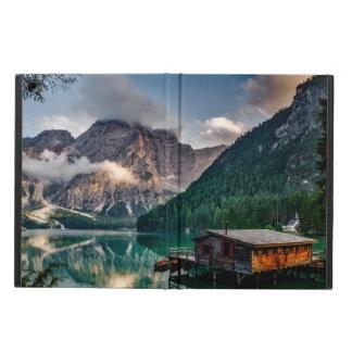 Italian Mountains Lake Landscape Photo iPad Air Cover