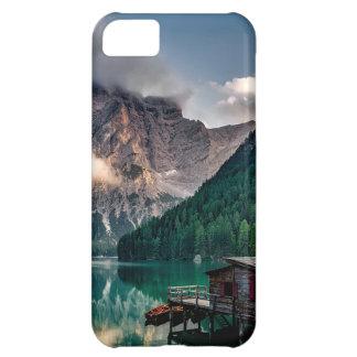 Italian Mountains Lake Landscape Photo iPhone 5C Case