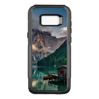 Italian Mountains Lake Landscape Photo OtterBox Commuter Samsung Galaxy S8+ Case