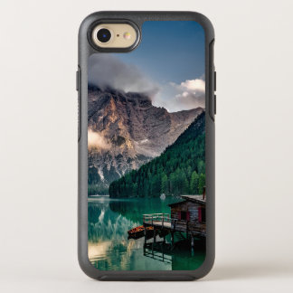 Italian Mountains Lake Landscape Photo OtterBox Symmetry iPhone 7 Case