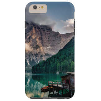 Italian Mountains Lake Landscape Photo Tough iPhone 6 Plus Case