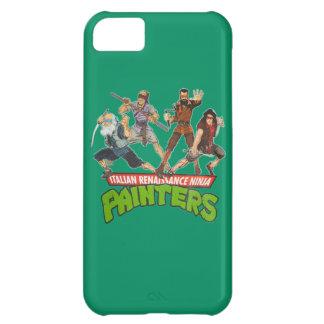 Italian Ninja Painters Case For iPhone 5C