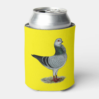Italian Owl Grizzle Pigeon Can Cooler