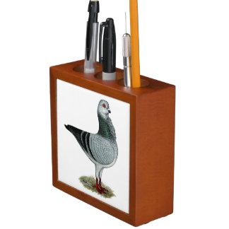 Italian Owl Grizzle Pigeon Desk Organiser