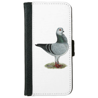 Italian Owl Grizzle Pigeon iPhone 6 Wallet Case