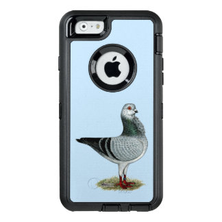 Italian Owl Grizzle Pigeon OtterBox Defender iPhone Case