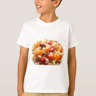 Italian pasta fusilli with vegetable ragout of pep T-Shirt