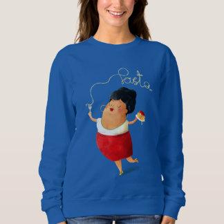 Italian Pasta Lady Sweatshirt