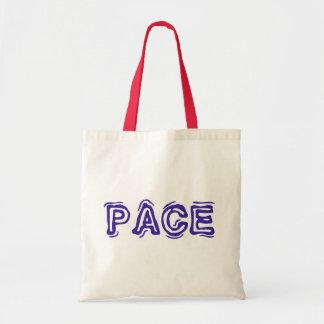Italian Peace Tote Bag