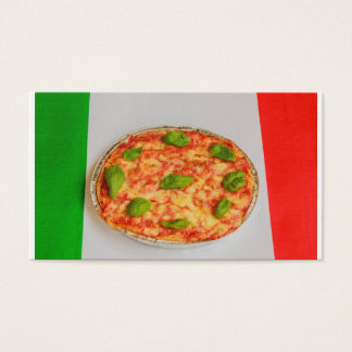 ITALIAN PIZZA  BUSINESS  CARD