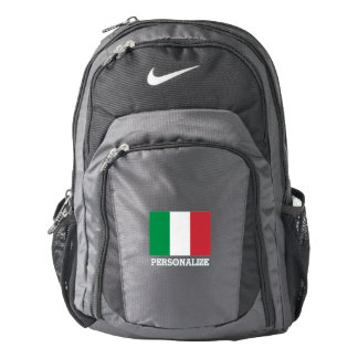 Italian pride flag of Italy personalized Backpack