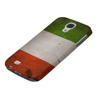 Italian Pride/Vintage Grungy Italy Flag Samsung Galaxy S4 Cover