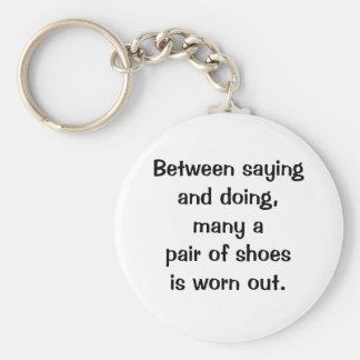 Italian Proverb Keychain No. 18