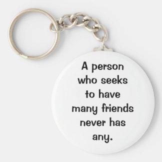 Italian Proverb Keychain No. 56