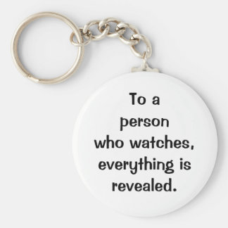 Italian Proverb No.183 Keychain