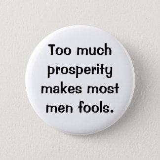 Italian Proverb No.187 Button