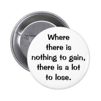 Italian Proverb No.208 Button