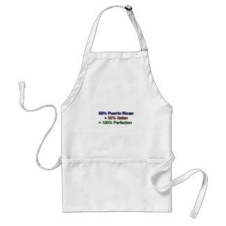 Italian puertorican standard apron
