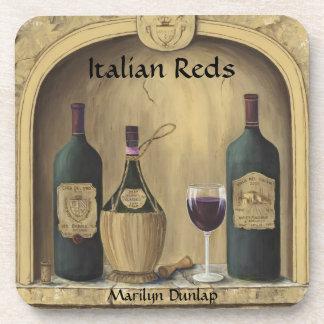 Italian Reds Coasters