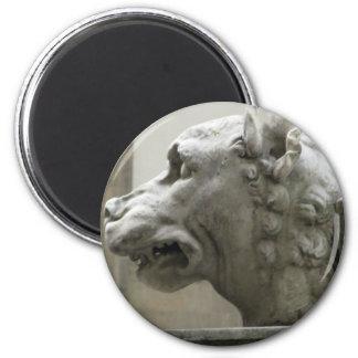 Italian Renaissance sculpture 6 Cm Round Magnet