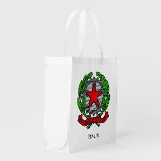 Italian Republic Personalize Reusable Grocery Bag