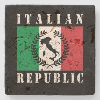 Italian Republic Stone Coaster