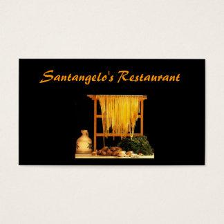 Italian Restaurant Business Card