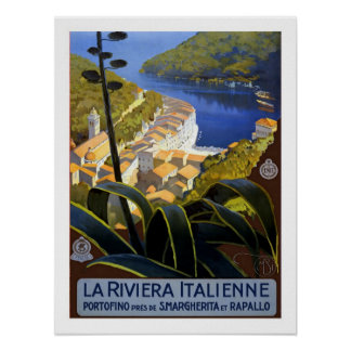 Italian Riviera Vintage Travel Posters