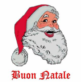 Italian Santa Photo Cut Outs