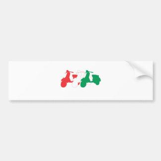 Italian Scooter Car Bumper Sticker