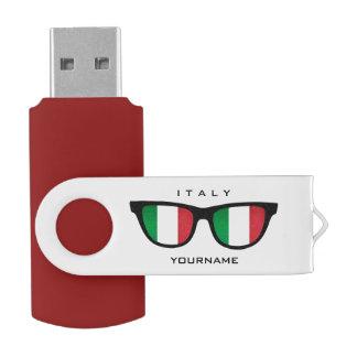 Italian Shades custom USB drives