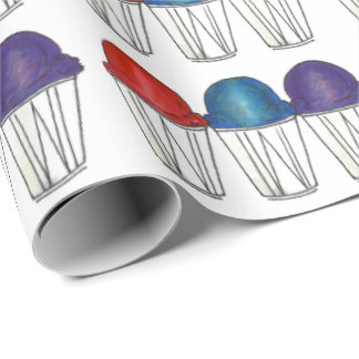 Italian Shaved Ice Summertime Sno Cone Gift Wrap