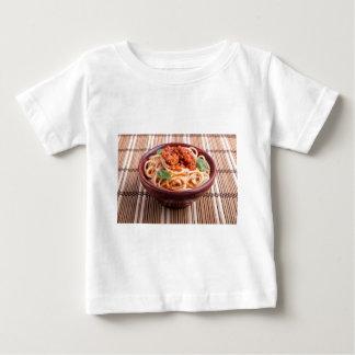 Italian spaghetti with tomato relish and basil baby T-Shirt