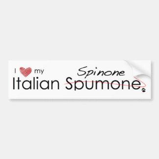Italian Spinone Bumper Sticker