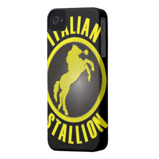 Italian Stallion BlackBerry Bold Case-Mate iPhone 4 Covers