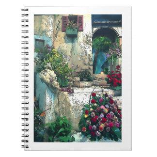 Italian Steps#2-Notebook Spiral Notebook