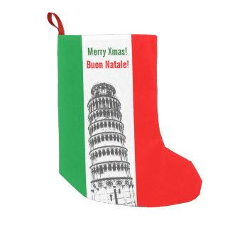 Italian Style Small Christmas Stocking