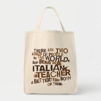 Italian Teacher Gift Tote Bags
