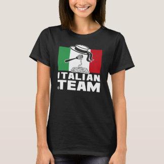 ITALIAN TEAM BLACK woman T-Shirt