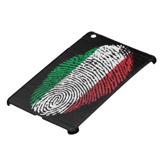 Italian touch fingerprint flag iPad mini cover